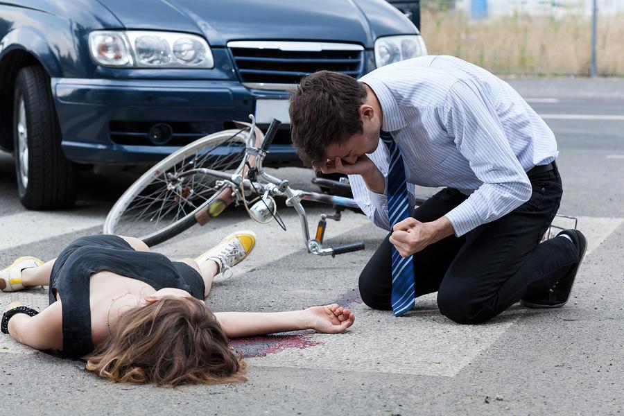 Bicycle strikes pedestrian - Los Angeles personal injury attorney