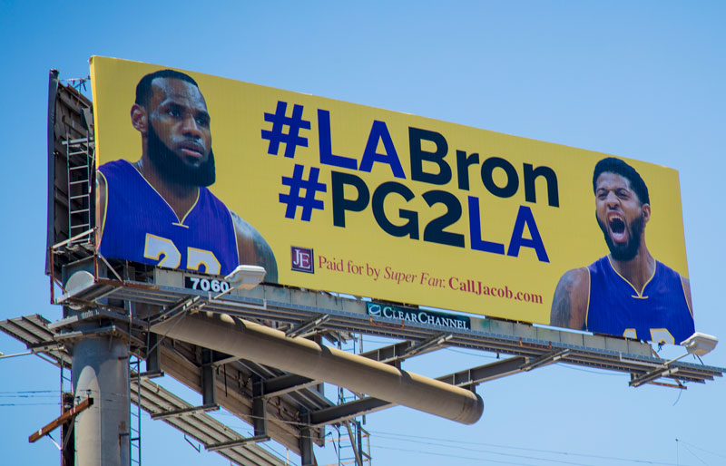 #pg2la billboard