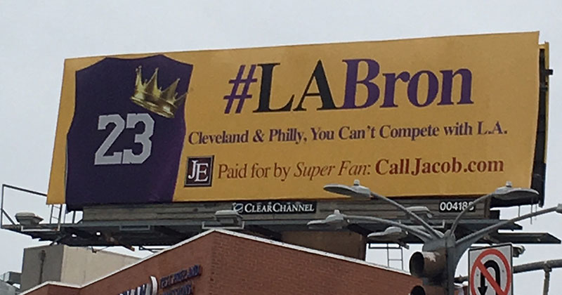 #LABron-billboard