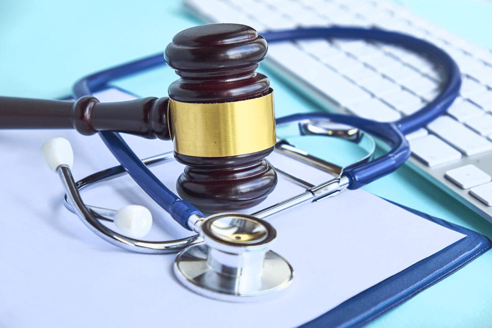 gavel-keyboard-doctor-stethoscope