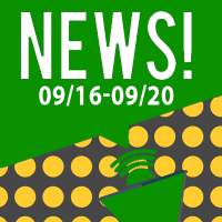 This Week In The News September 16th to September 20th 2019