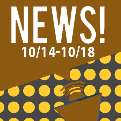 This Week In The News October 14th to October 18th 2019
