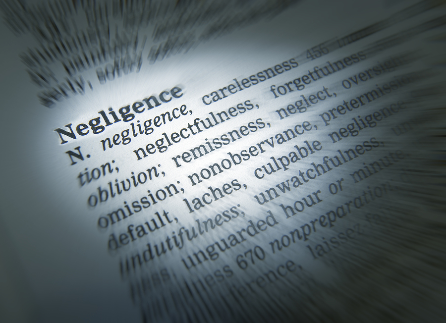 negligence-definition-text-in-dictionary