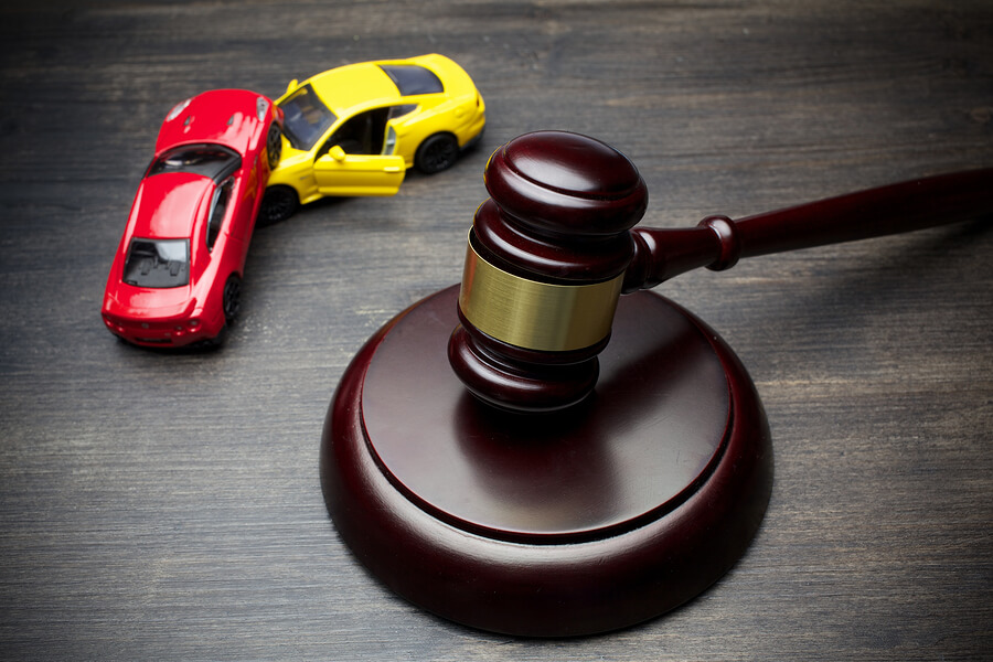 Hammer-Of-The-Judge-And-Two-Car-Accident