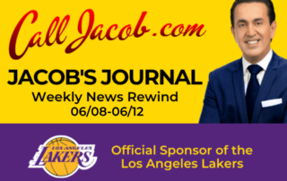 Jacob's Journal Weekly News Rewind June 8th to June 12th
