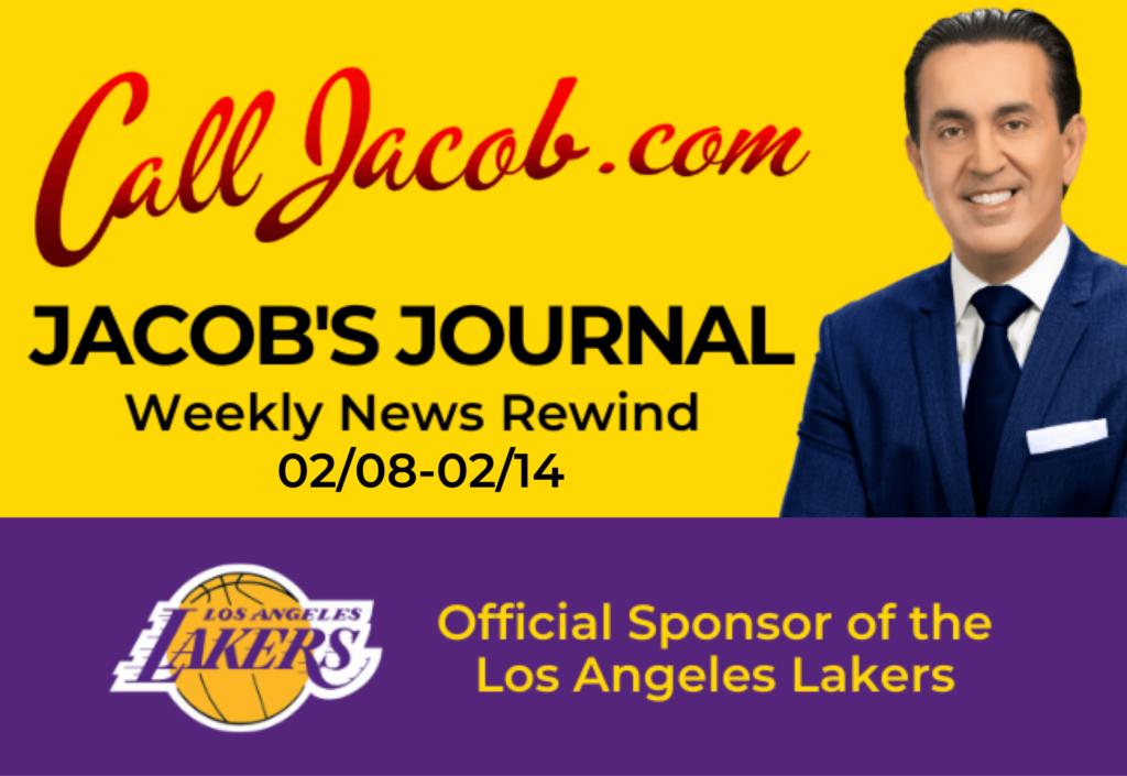 JacobsJournalWeeklyNewsRewind February 8th to February 14th 2021