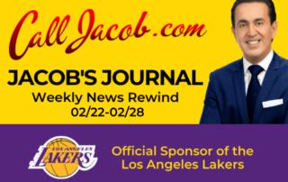 JacobsJournalWeeklyNewsRewind February 22nd to February 28th 2021