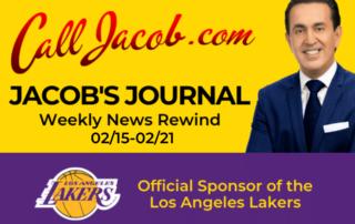 JacobsJournalWeeklyNewsRewind February 15th to February 21st 2021