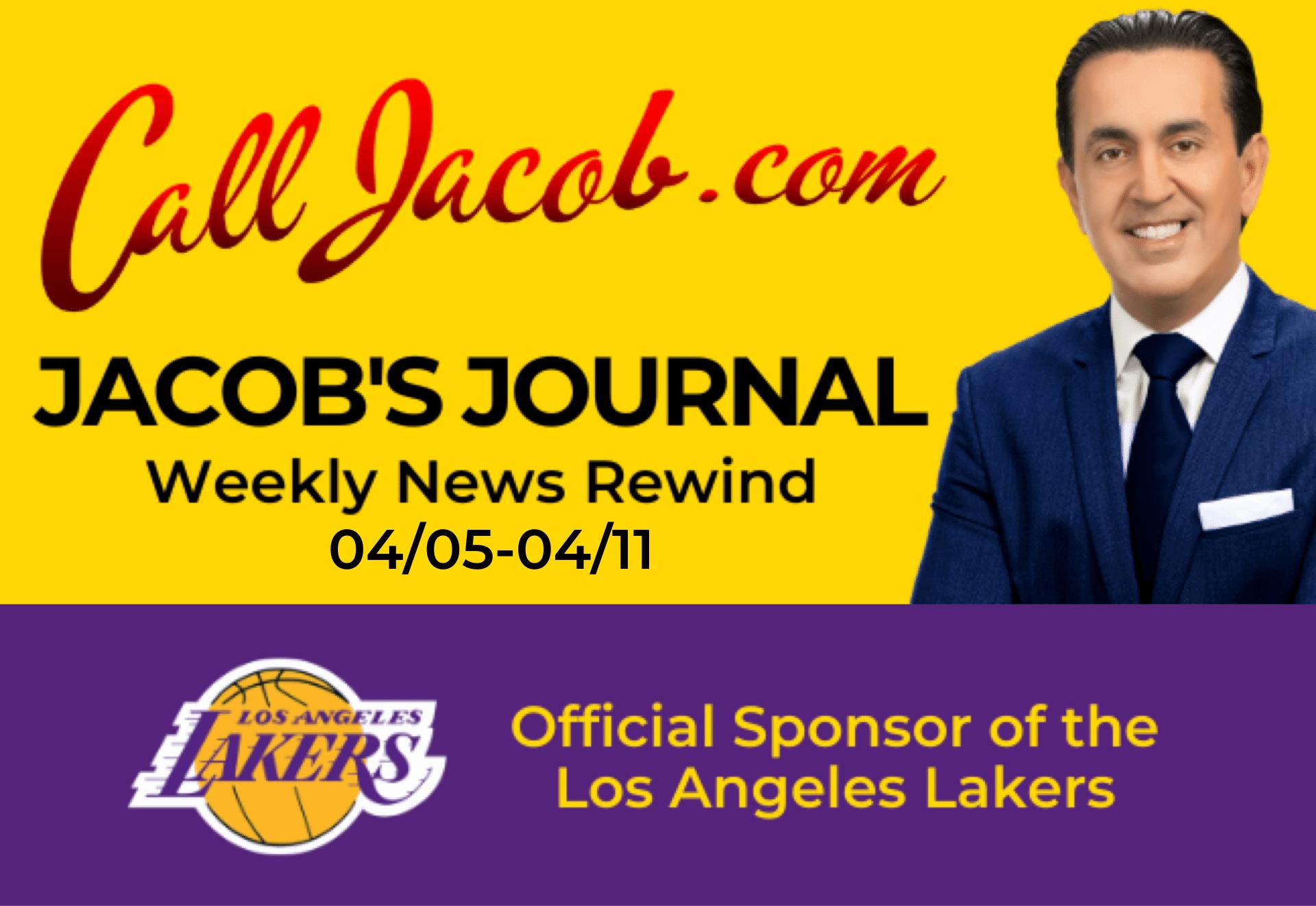 JacobsJournalWeeklyNewsRewind April 5th to April 11th 2021