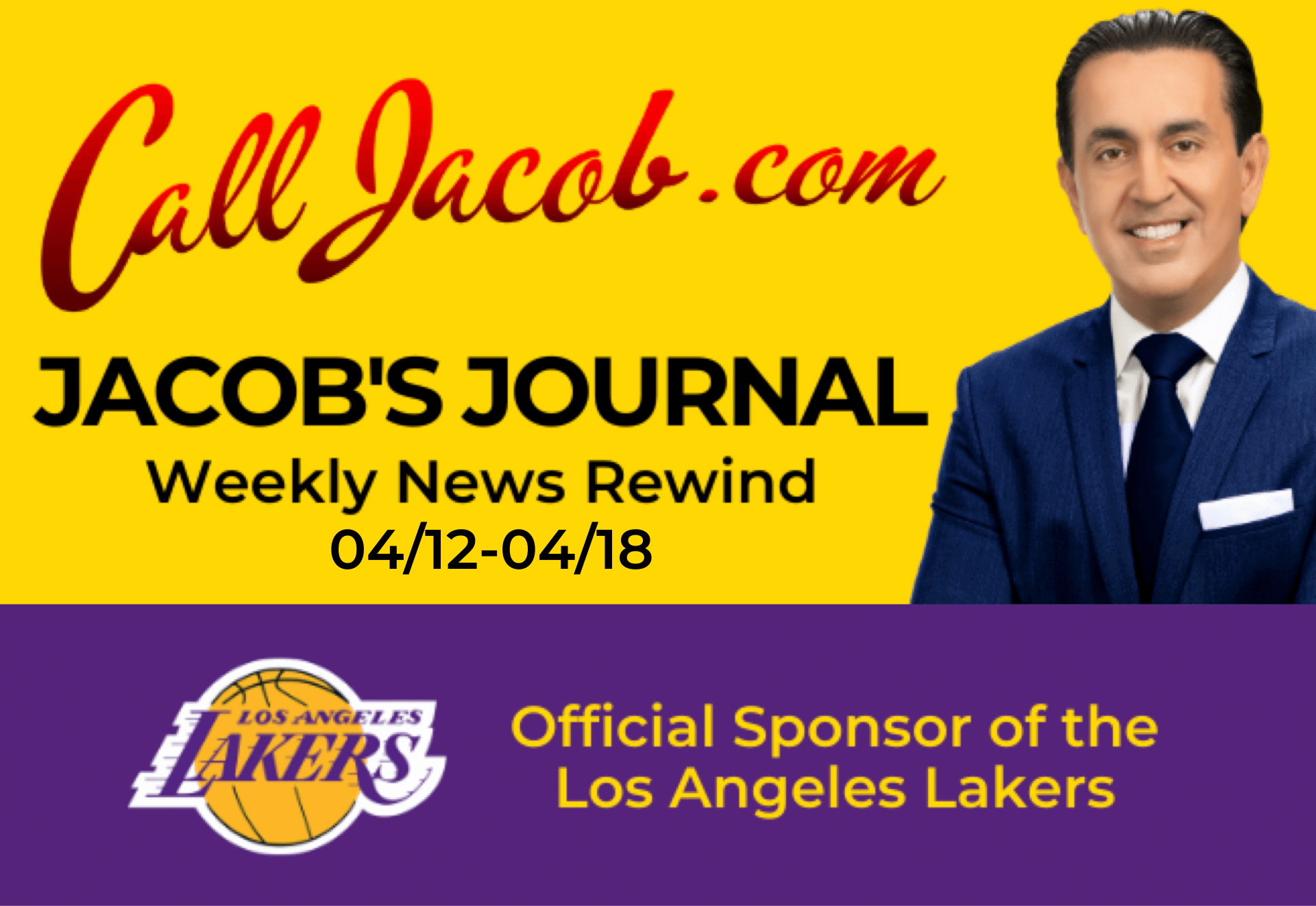 JacobsJournalWeeklyNewsRewind April 12th to April 18th 2021