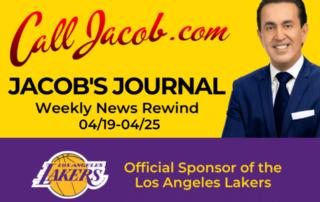 JacobsJournalWeeklyNewsRewind April 19th to April 25th 2021