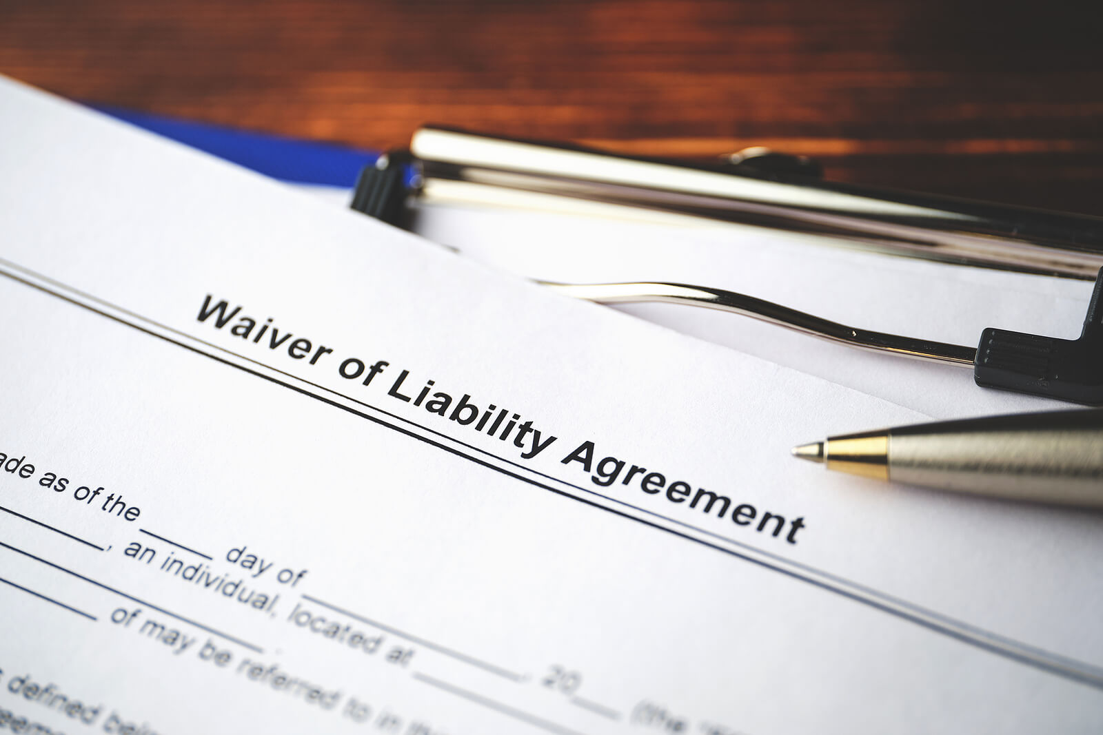 When is Liability Waiver Invalid