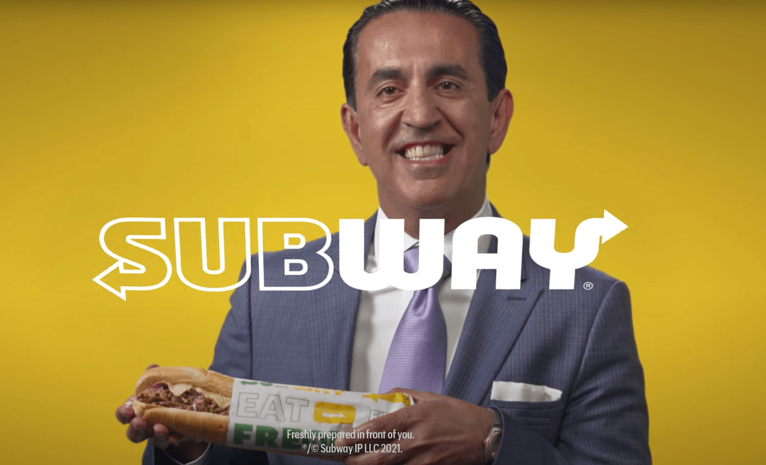 jacob emrani subway ad